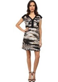 kensie Vertabrae Stripes Dress
