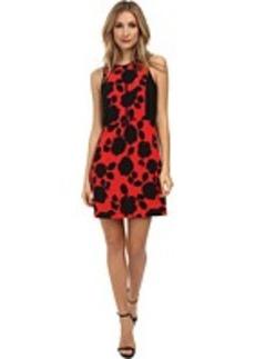 kensie Watercolor Roses Dress