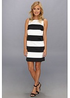 kensie Wide Stripe Dress