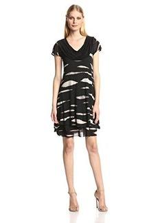Kensie Women's Animal Stripe Dress