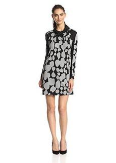Kensie Women's Big Dot Dress