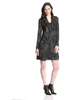 Kensie Women's Crackle Print Dress