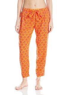 Kensie Women's Cropped Pajama Pant