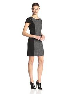 Kensie Women's Double Sided Texture Dress