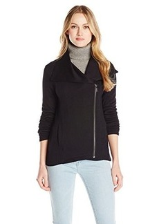 Kensie Women's Drapey French Terry Jacket
