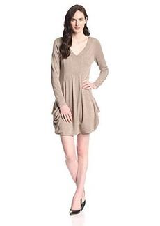 Kensie Women's Drapey French Terry Pocket Dress