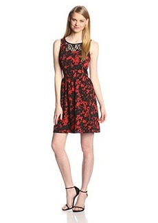 Kensie Women's Floral Bouquet Dress