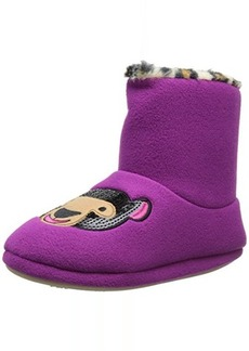 kensie Women's Forest Friends Ankle Slipper Bootie
