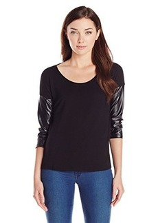 Kensie Women's French Terry Top