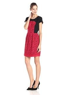 Kensie Women's Geometric Lace Dress