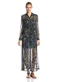 Kensie Women's Kaleidoscope Petals Maxi Dress