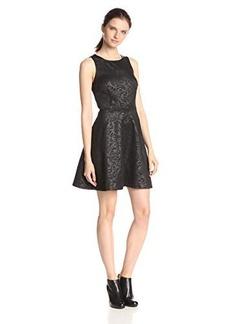 Kensie Women's Luxe Embossing Dress