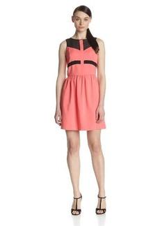 Kensie Women's Matte Couture Stretch Dress