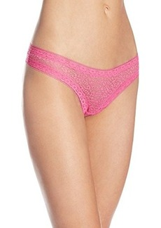 Kensie Women's Mattie Lace Thong 3-Pack