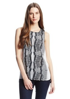 Kensie Women's Mirror Print Top