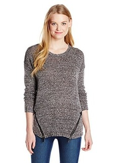 Kensie Women's Mixed Tape Yarn Sweater
