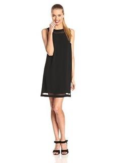Kensie Women's Modern Crepe Shift Dress