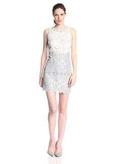 Kensie Women's Oreo Lace Dress