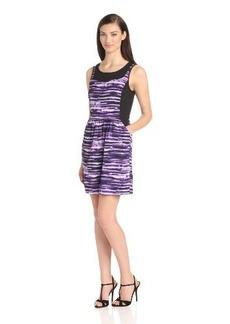 Kensie Women's Painted Stripes Dress