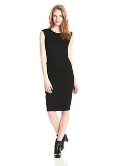 Kensie Women's Pleather Shift Dress