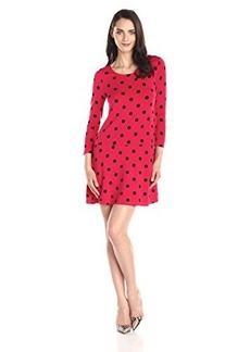 Kensie Women's Polka Dots Dress