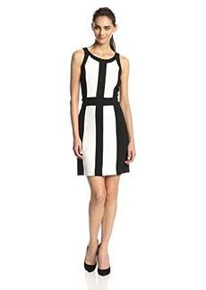 Kensie Women's Ponte Color Block Dress