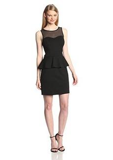 Kensie Women's Ponte Peplum Dress