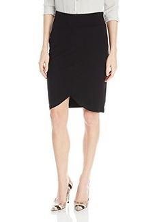 Kensie Women's Ponte Skirt