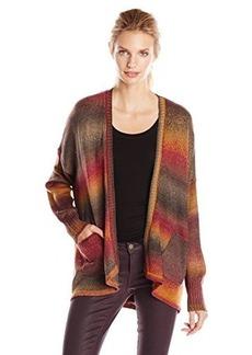 Kensie Women's Rainbow Cardigan Sweater