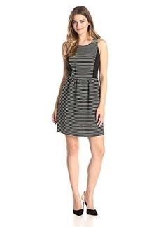 Kensie Women's Ribbed Stripe Dress
