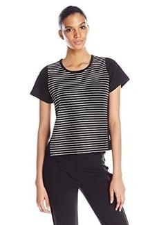 Kensie Women's Ribbed Stripe Top