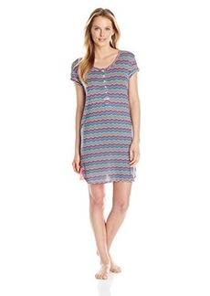 Kensie Women's Short Sleeve Sleep Shirt