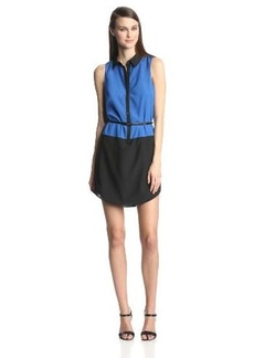 Kensie Women's Soft Crepe Colorblock Dress