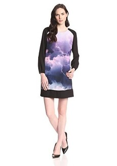 Kensie Women's Storm Scene Dress