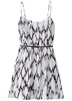 Kensie Women's Streaked Spots Cami Dress