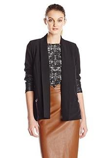 Kensie Women's Stretchy Crepe Jacket