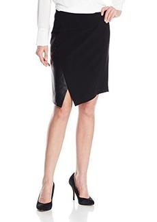 Kensie Women's Stretchy Crepe Skirt
