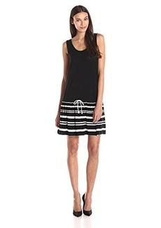 Kensie Women's Striped Tank Short Dress