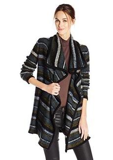 Kensie Women's Tissue Knit Cardigan Sweater