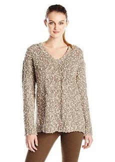 Kensie Women's Tweed Boucle Sweater