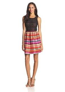 Kensie Women's Varied Stripes Dress