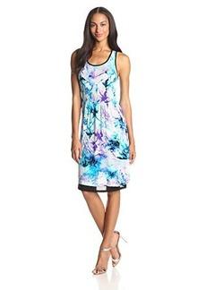 Kensie Women's Washed Floral Dress