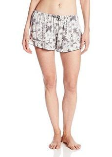 Kensie Women's Woven Boxer Short