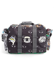 KENZO Allover Print Nylon Shoulder Bag