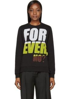 Kenzo Black 'Forever, No?' Sweatshirt