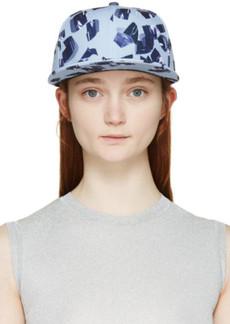 Kenzo Blue 'Metallic Curls' New Era Edition Cap