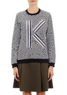 """Kenzo """"Broken Floor""""-Print Sweatshirt"""