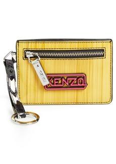 KENZO Card Case Keychain