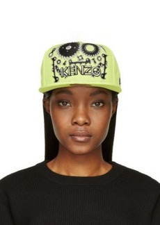 Kenzo Chartreuse Monster Logo New Era Edition Cap