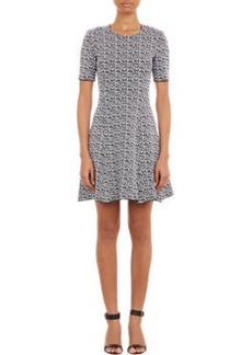 Kenzo Compact Knit Fit & Flare Dress